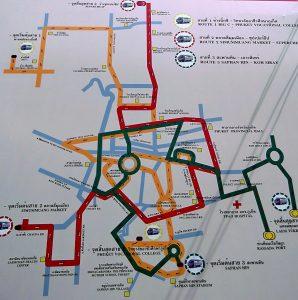 Рхукет Плюс маршрут движения