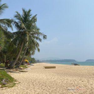 смог и дымка на пхукете, пляж карон, качество воздуха